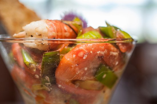 Blind Channel, Canadá: Fresh caught local spot prawns