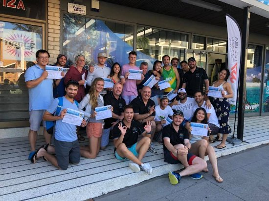 Matraville, Australia: Newly Certified Divers. Open Water and Advanced!