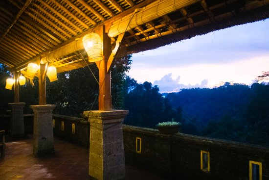 View from Villa Awang Awang living area