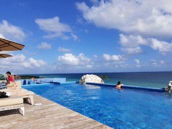 Hotel Xcaret Mexico Rooftop Pool Casa Fuego