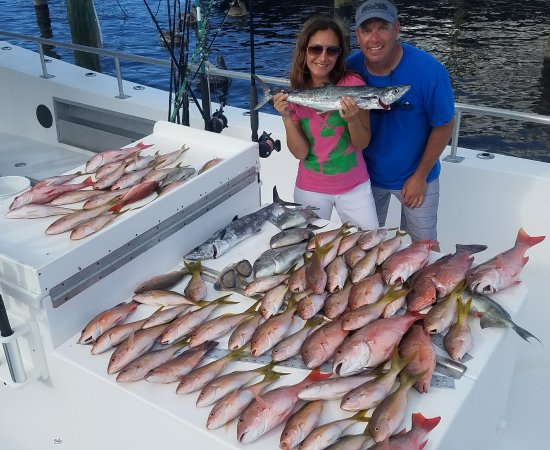 They Tore Up The Snapper Today Foto Good Time Charter