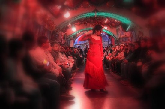 Granada Sacramonte Caves Flamenco...