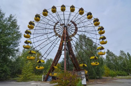 Excursion d'une journée à Tchernobyl...