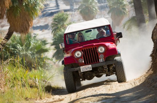 San Andreas Fault Small-Group Jeep