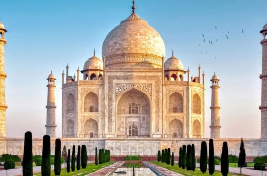 Visite privée du Taj Mahal en train...