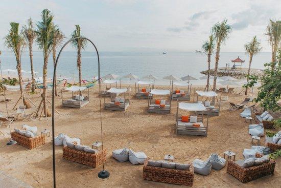 ARTOTEL Beach Club: Overlooking beautiful Sanur Beach