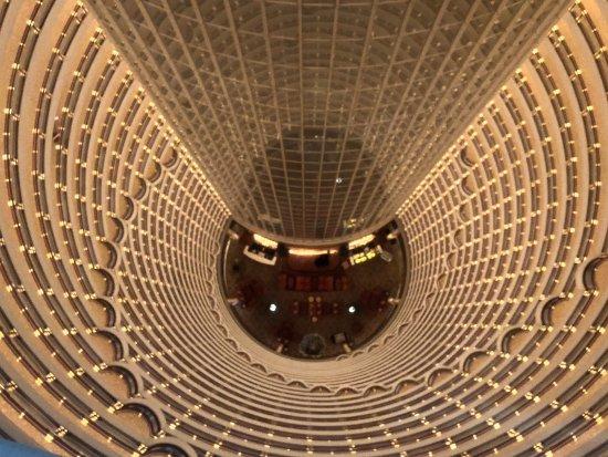 Grand Hyatt Shanghai : View of the Hyatt Bar from the top deck