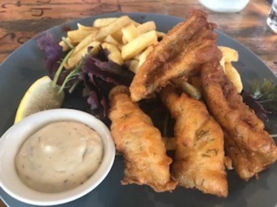 Scarborough, Australia: Fish and Chips