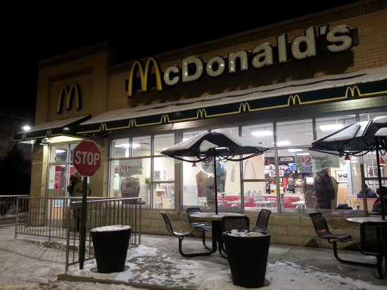 Mcdonald S Chicago 5200 S Lake Pk Hyde Park Restaurant