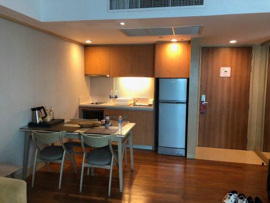 Amari Residences Bangkok: view of the entry door