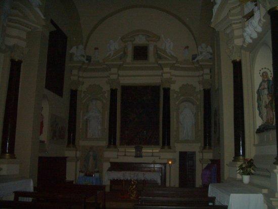 Sarteano, Italie : altare maggiore