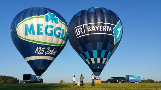 Bernau am Chiemsee, Γερμανία: Der Meggle Ballon