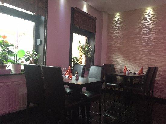 Petange, Luxembourg: intérieur du restaurant