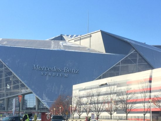 Foto de mercedes benz stadium atlanta lo stadio for Mercedes benz stadium location