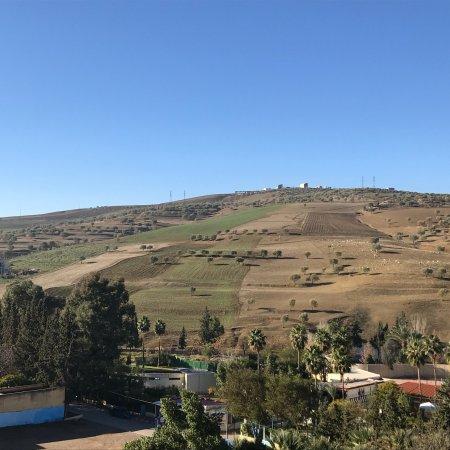 Sidi Harazem Hotel: Beau paysage sur la vallée du Saiss