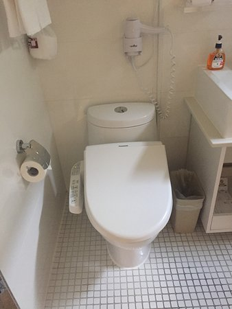 Toilet Has A Built In Bidet Picture Of Dandy Hotel Daan Park