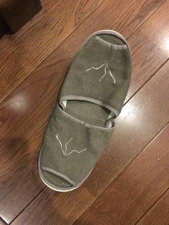 Sapa Legend Hotel & Spa: Used slippers
