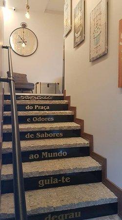 Paredes, Portugal: Escadaria
