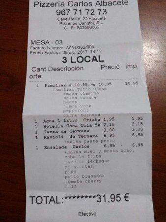 imagen Pizzería Carlos - Hellín en Albacete