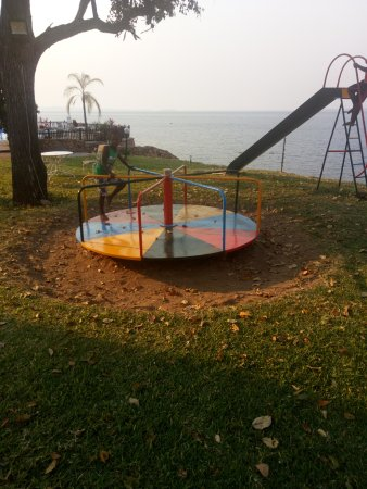 Kariba, Zimbabwe: play centre...