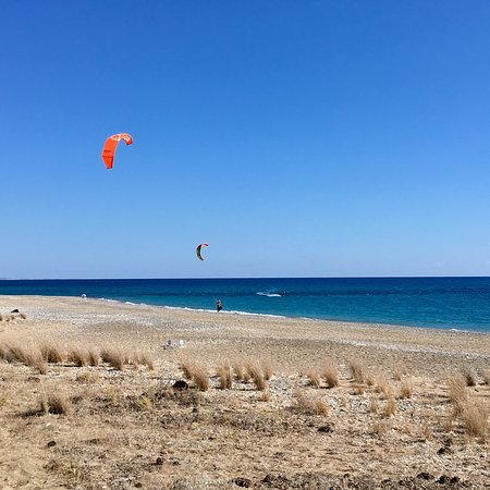 Kite Surfing Cyprus: Avdimou Beach - no comment required!