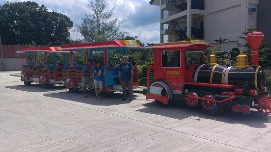 Davao City, Philippines: their choo choo train :)