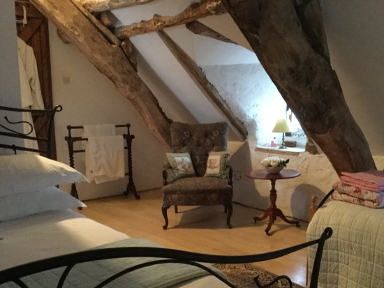 Les Gites Perard: Bed and Breakfast Triple room