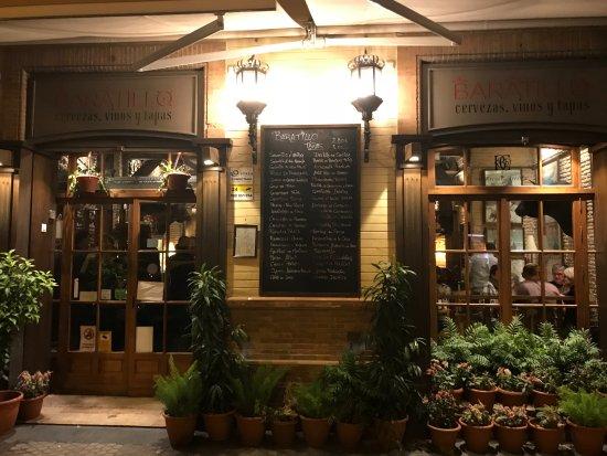 Esterno del ristorante picture of bar el baratillo for L esterno del ristorante cruciverba