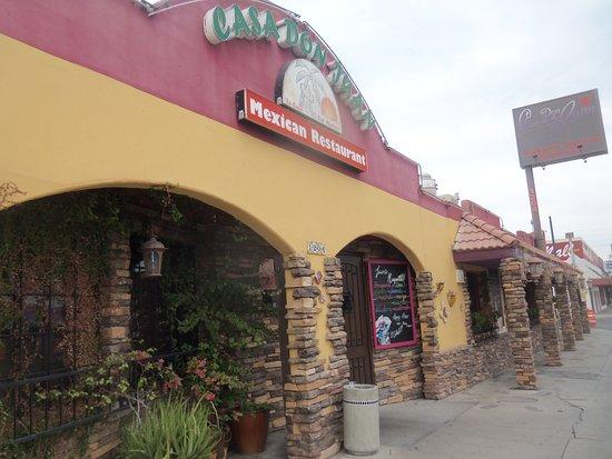 Casa Don Juan: entrance