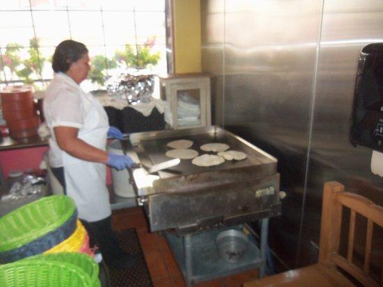 Casa Don Juan: Making Enchilada