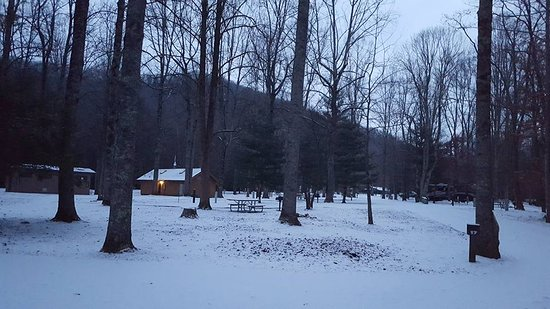 Roan Mountain, TN: Snow on the New Years