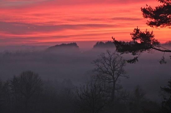 St-Cyr-la-Rosiere, فرنسا: Winter solstice at La Mouchère