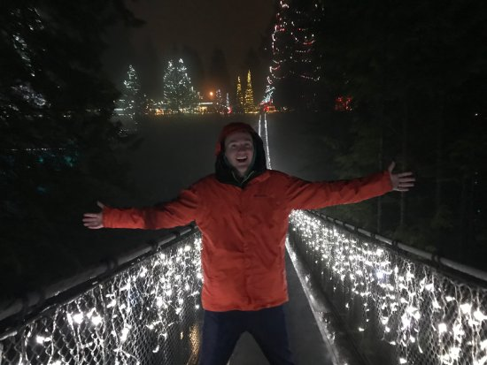 North Vancouver, Canada: We made it across!