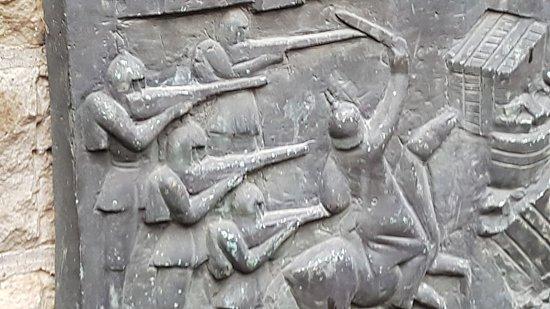 Relief zur Stadtgeschichte