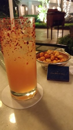 The Oberoi Grand: Ask the bartender for a Cricket if you like a spicy drink