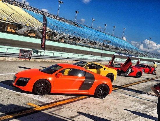 race cars on the track picture of miami exotic auto racing rh tripadvisor com au