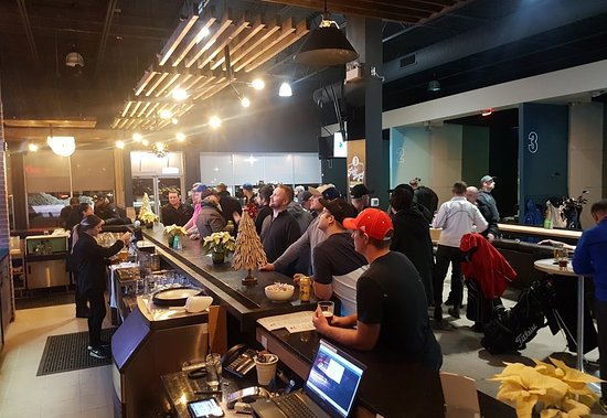 Kitchener, Canada: Our spacious interior is ideal for large groups or corporate events