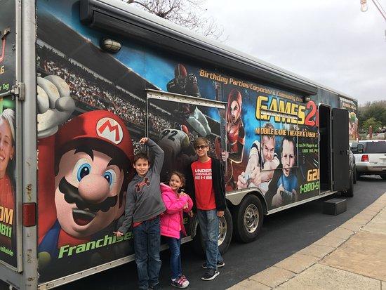 Video game truck over NYE weekend - Picture of Hyatt Regency