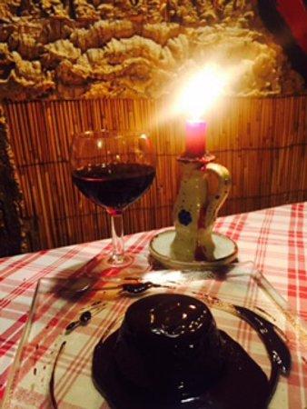 Pianopoli, Italia: Tortino al cioccolato