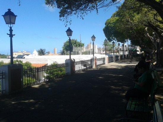 Passeio Público : Praça