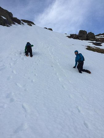 Cairngorm Adventure Guides: Watch out below