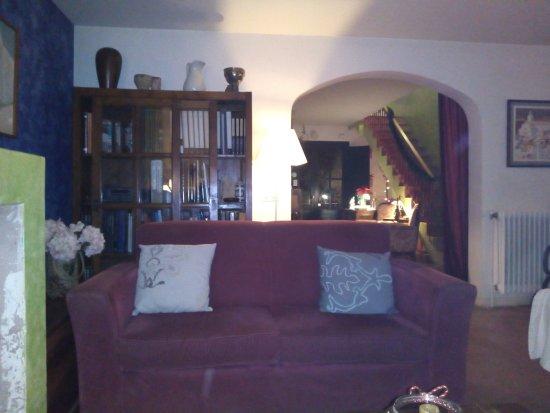 Crespia, Hiszpania: Sala de estar