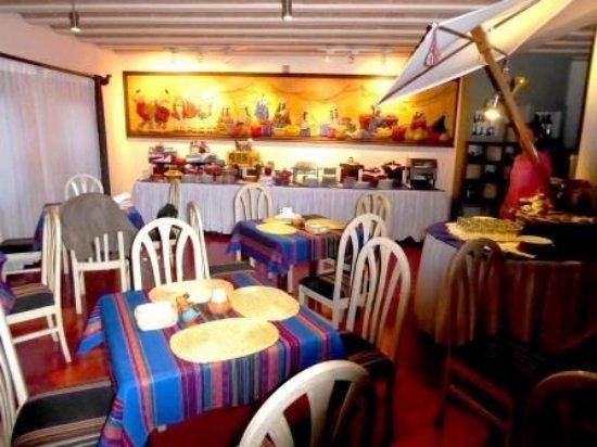 Hotel Rosario La Paz : Restaurant