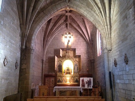 Santo Domingo de la Calzada, Spain: The alter