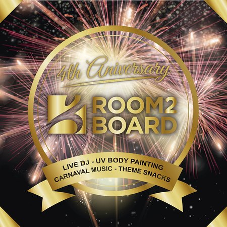 Room2Board Hostel and Surf School: Party with us!