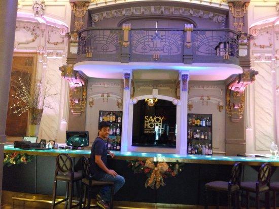 Savoy Hotel: barzinho