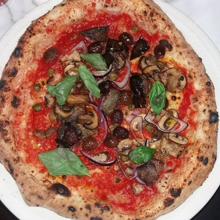Great Vegan Pizza Options Picture Of Theos London