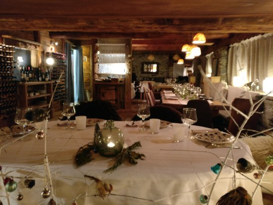 Chez merie sainte foy tarentaise restaurant reviews for Chez merie le miroir sainte foy
