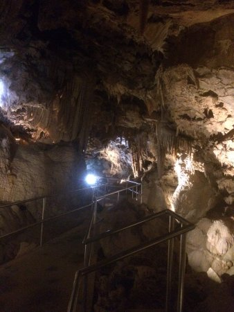 Lake Shasta Caverns: inside the cave