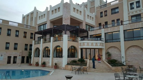 Beautiful, cosy, peaceful and tranquil - a few adjectives for Marriott Petra